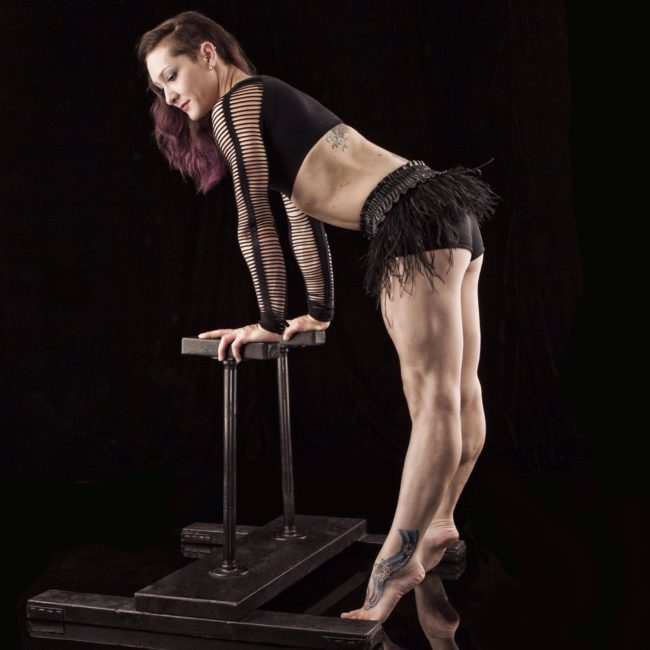 Brittany | Speakeasy | Roaring 20's | Acrobatic Performance | Hand Balancing | Handstand | Imagine Circus | Cirque | Raleigh, NC