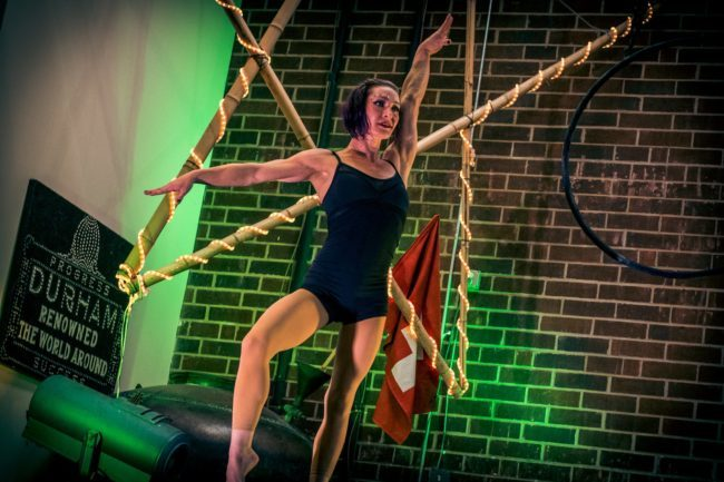 Brittany | Acrobat | Contortionist |Acrobatic Performer | Imagine Circus | Cirque | Raleigh, NC