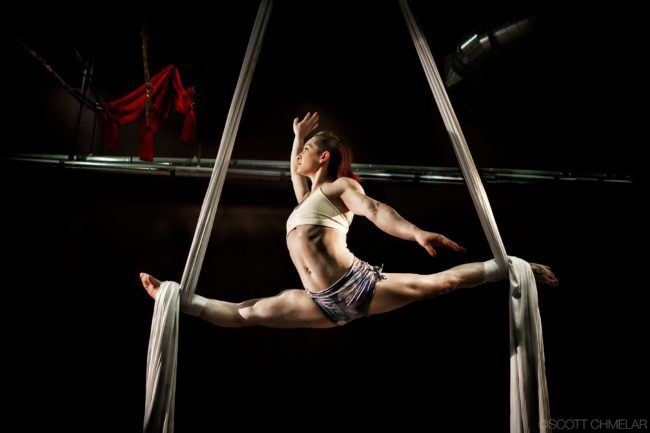 Brittany | Aerial Performance | Aerial Silks | Imagine Circus | Cirque | Raleigh, NC