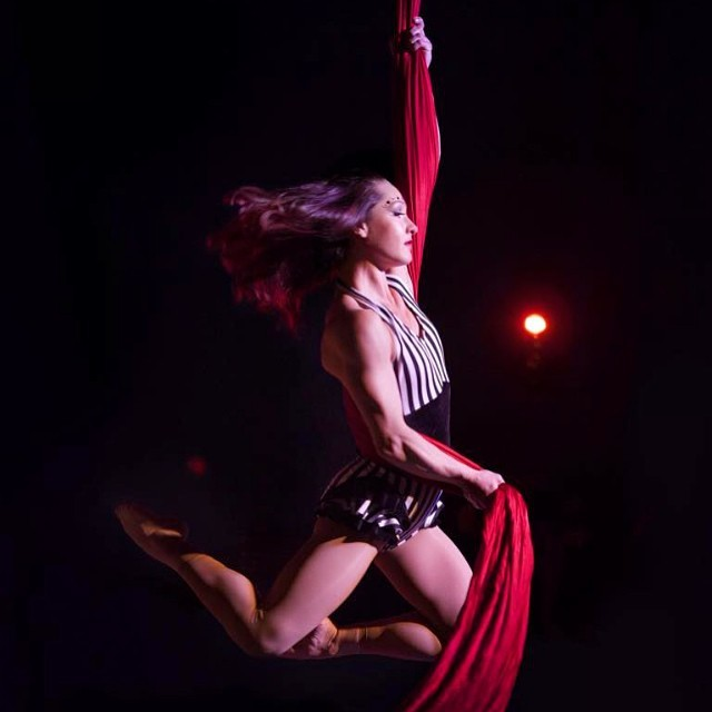 Brittany | Big Top Circus | Aerial Silks | Silk Performer | Aerial Fabric | Imagine Circus | Cirque | Raleigh, NC