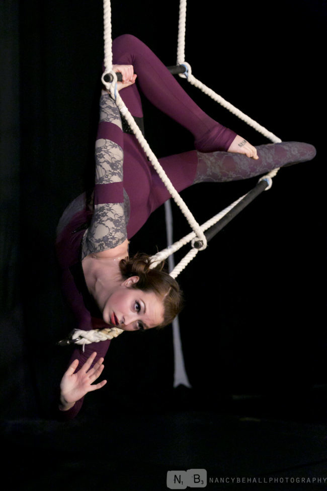 Katie R | Aerial Performer | Unique Performance | Aerial Ladder | Imagine Circus | Cirque | Raleigh, NC