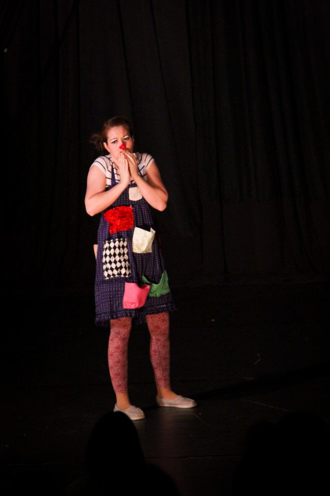 Katie R | Clown | Childrens' Theater | Performance | Imagine Circus | Cirque | Raleigh, NC