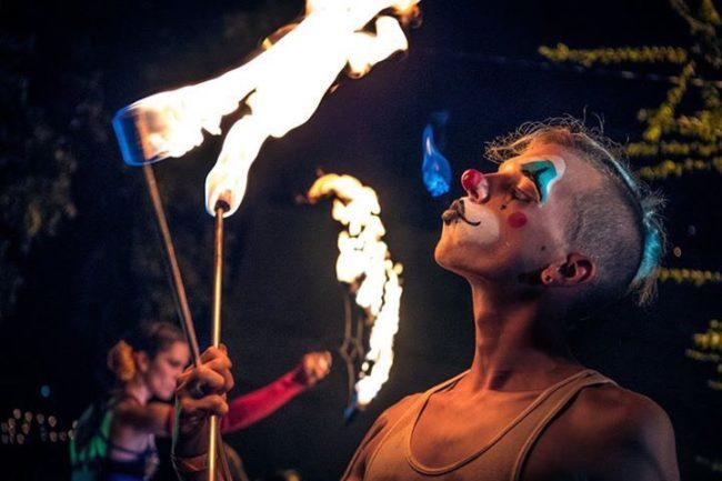 Krumbz | Fire Performance | Fire Breathing | Clown | Imagine Circus | Cirque | Raleigh, NC