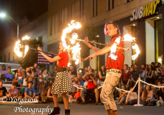 Krumbz | Fire Performance | Dragon Staff | Imagine Circus | Cirque | Raleigh, NC