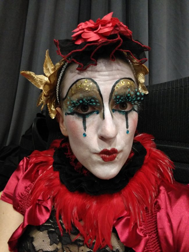 Katie | Modern Cirque | Makeup | Performer | Imagine Circus | Cirque | Raleigh, NC