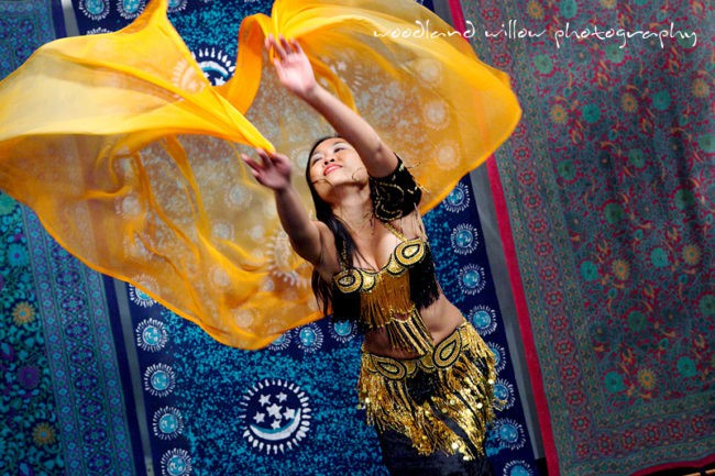 Asyia | Belly Dance | Traditional | Veil | Performer | Imagine Circus | Cirque | Raleigh, NC