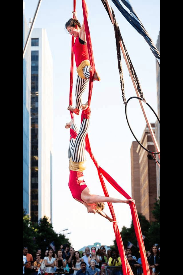 Kaci | Liz | Big Top Circus | Aerial Silks | Partner Aerials | Duo Silks | Performers | Imagine Circus | Cirque | Raleigh, NC