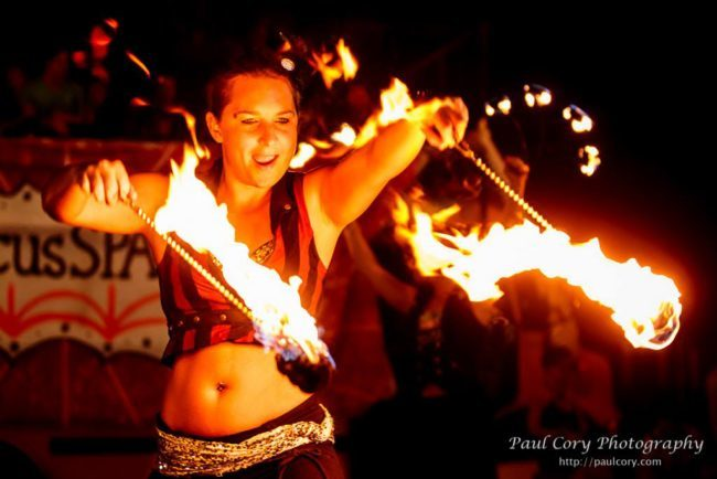 Irene | Big Top Circus | Fire Dancer | Fire Poi | Performer | Imagine Circus | Cirque | Raleigh, NC