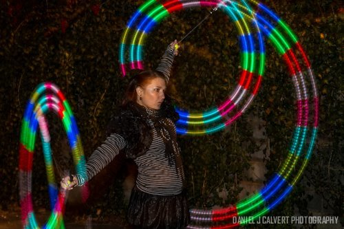 Irene | LED Performance | Poi | Flow Artist | Performer | Imagine Circus | Cirque | Raleigh, NC