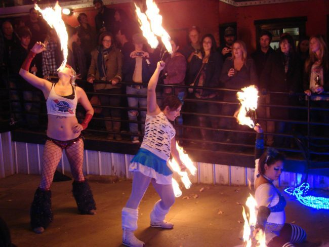 Fire Dancers | Fire Fan Trio | Performers | Imagine Circus | Cirque | Raleigh, NC
