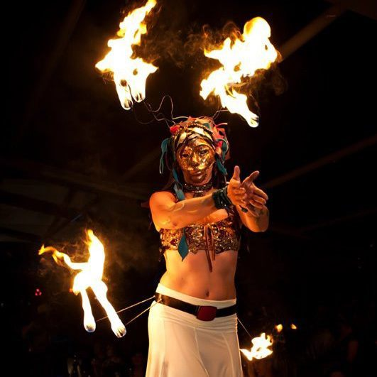 Jewels| Fire Belt | Fire Mask | Performer | Imagine Circus | Cirque | Raleigh, NC