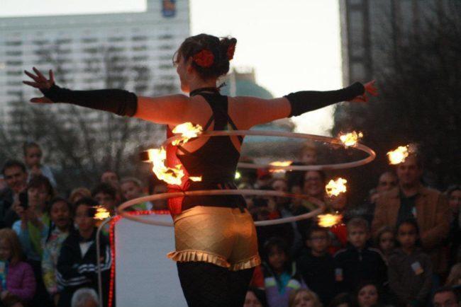 Jewels| Big Top Circus | Fire Hoop Dancer | Hula Hooper | Two Hoops | Performer | Imagine Circus | Cirque | Raleigh, NC