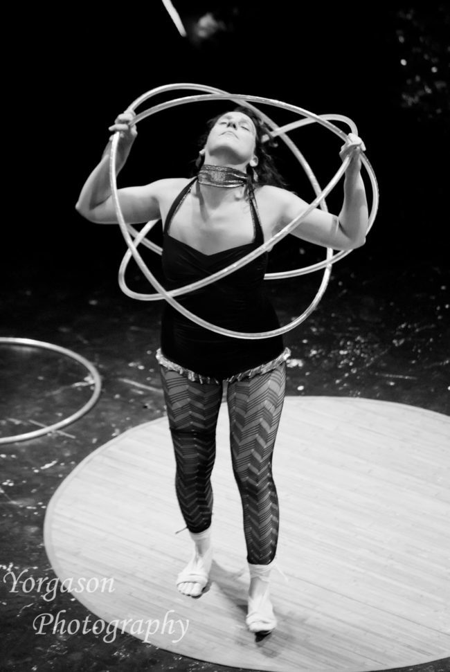 Jewels| Light Pours In | Hoop Dancer | Hula Hooper | Three Hoops | Performer | Imagine Circus | Cirque | Raleigh, NC