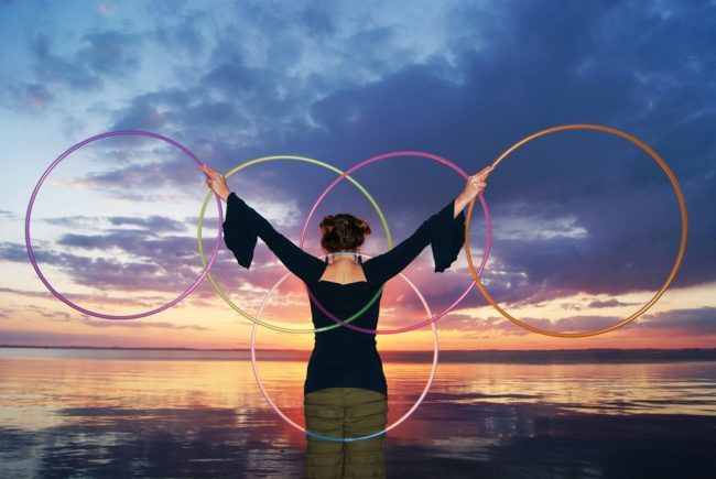 Jewels | Hoop Dancer | Hula Hooper | Five Hoops | Performer | Imagine Circus | Cirque | Raleigh, NC