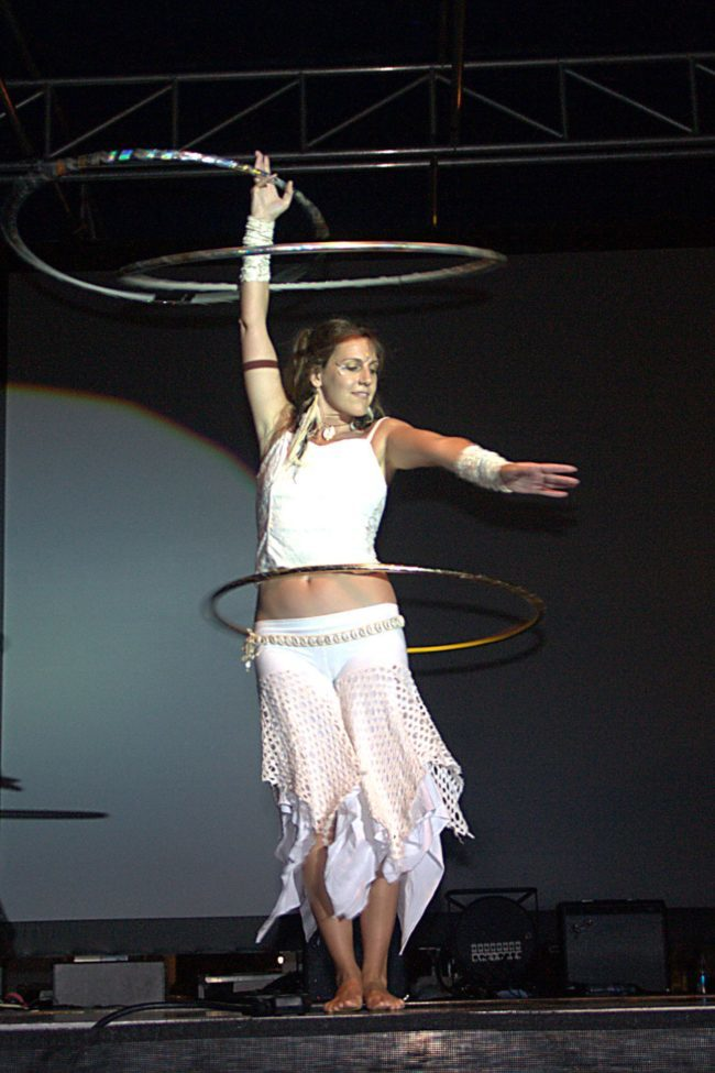 Jewels| Hoop Dancer | Hula Hooper | Three Hoops | Performer | Imagine Circus | Cirque | Raleigh, NC