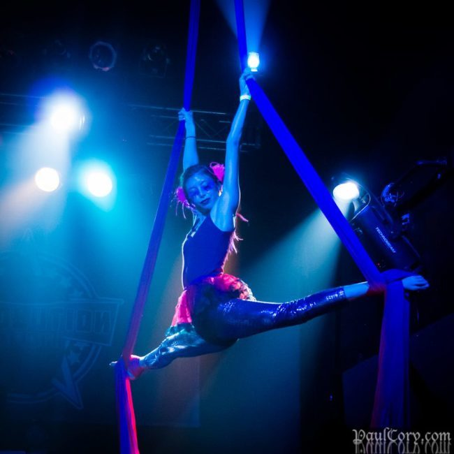 Kaci | Aerial Performance | Aerial Silks | Fabric | Rave | EDM | Imagine Circus | Cirque | Raleigh, NC