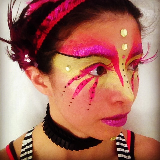 Kaci | Modern Cirque | Makeup | Performer | Imagine Circus | Cirque | Raleigh, NC