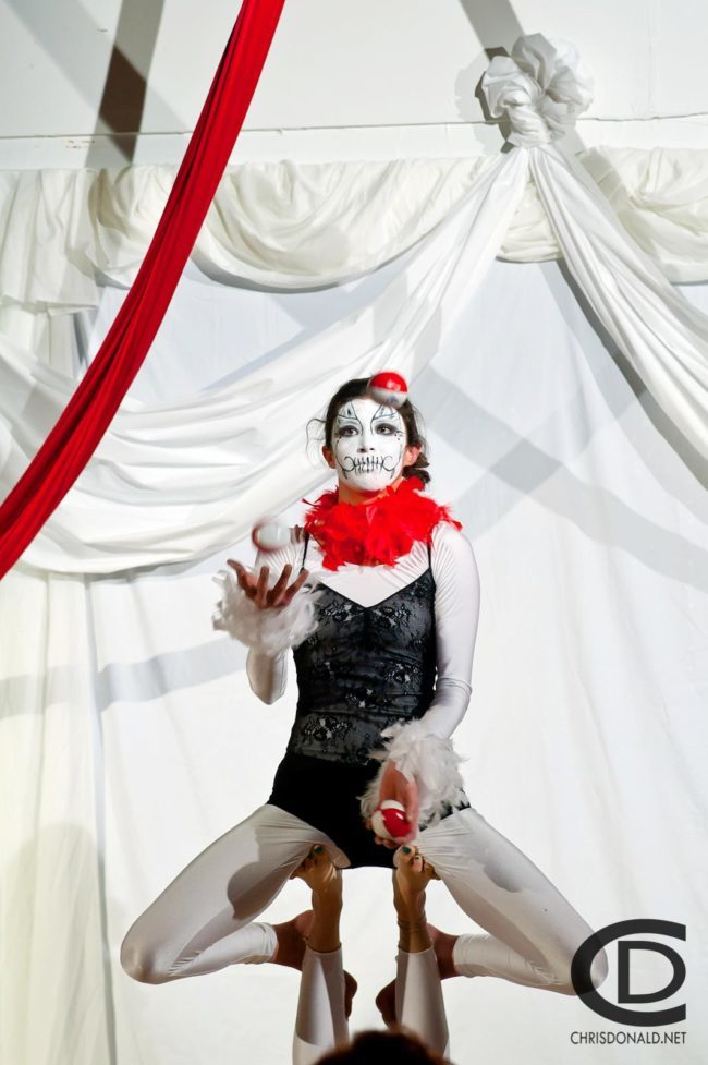 Kaci | Day of the Dead | Stage Show | Jugglers | Acrobatic Performance | Partner Acro | Juggling | Imagine Circus | Cirque | Raleigh, NC