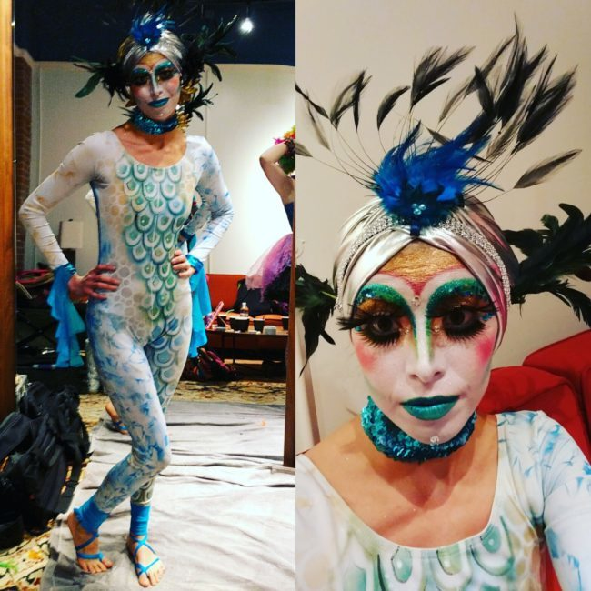 Kaci | Under the Sea | Makeup| Mermaids | Performer | Imagine Circus | Cirque | Raleigh, NC