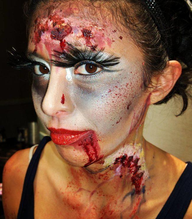 Zombie   Performer   Makeup   Imagine Circus   Cirque   Raleigh, NC