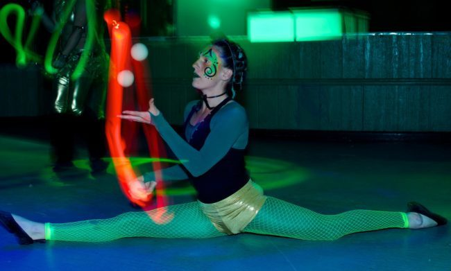 Katie | LED Performance | Juggler | Juggling | Rave | EDM | Imagine Circus | Cirque | Raleigh, NC