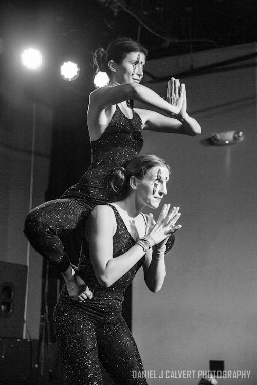 Katie | Kaci | Acrobatic Performance | Stage Show | Partner Acro | Duo | Imagine Circus | Cirque | Raleigh, NC