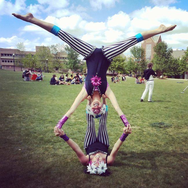 Kaci | Katie | Big Top Circus | Acrobats | Partner Acrobatics | Performers | Imagine Circus | Cirque | Raleigh, NC
