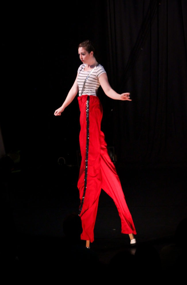 Katie R | Stilt Walker | Performer | Performance | Imagine Circus | Cirque | Raleigh, NC