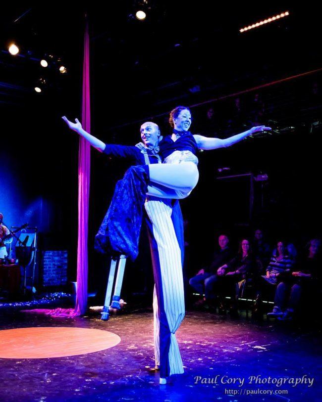 Light Pours In | Acrobatic Performance | Acrobatic Stilting | Stilt Walkers | Imagine Circus | Cirque | Raleigh, NC
