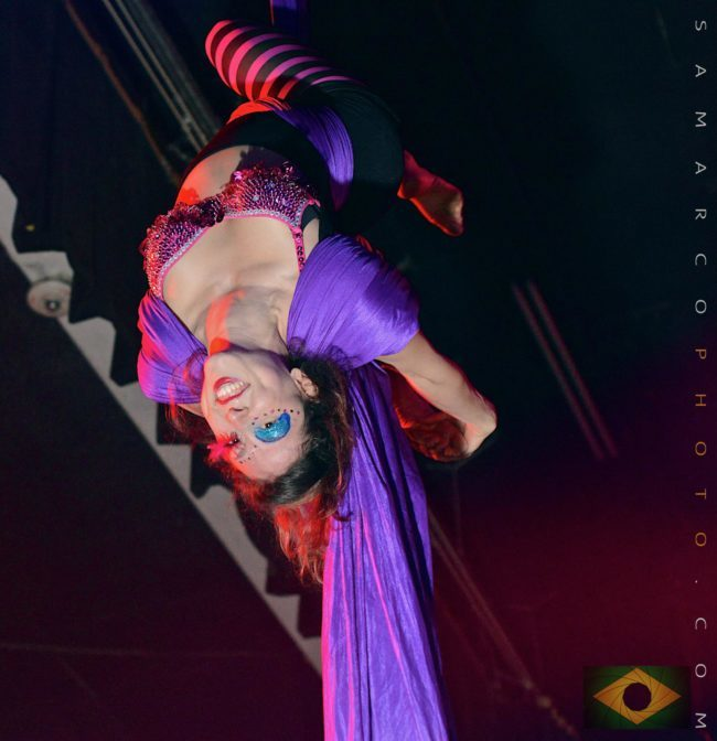 Liz | Aerial Silks | Aerial Dancer | Performer | Imagine Circus | Cirque | Raleigh, NC