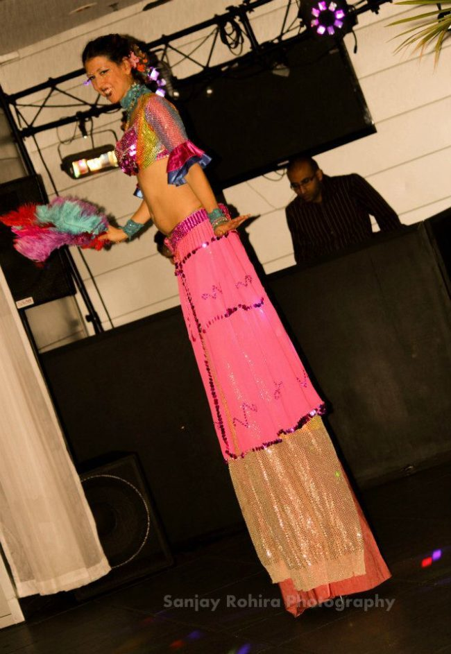 Liz | Stilt Walker | Performer | Imagine Circus | Cirque | Raleigh, NC
