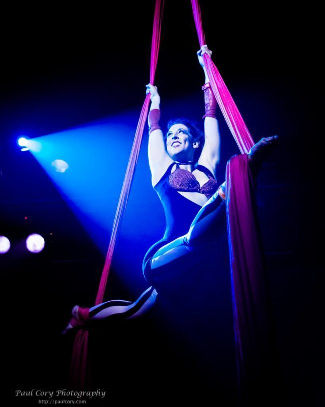 Liz | Big Top Circus | Aerial Silks | Silk Performer | Aerial Fabric | Imagine Circus | Cirque | Raleigh, NC