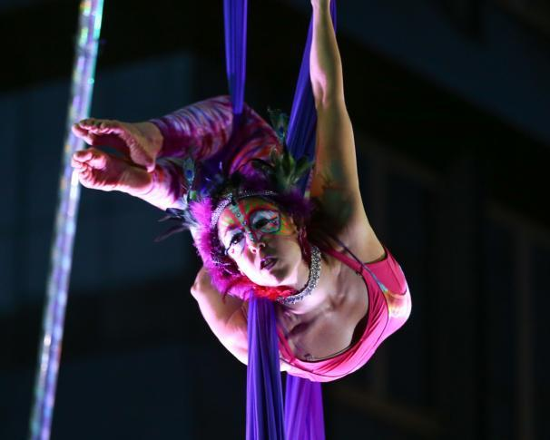 Liz | Modern Cirque | Aerial Silks | Silk Performer | Aerial Fabric | Imagine Circus | Cirque | Raleigh, NC