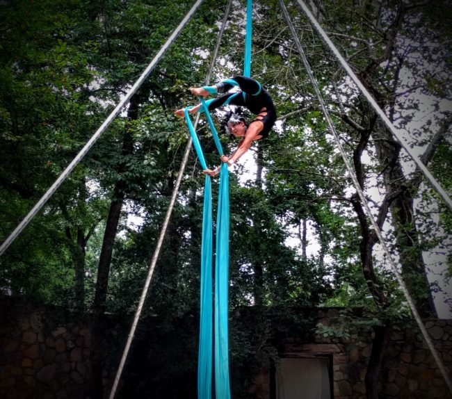 Liz | Festival | Aerial Silks | Silk Performer | Aerial Fabric | Imagine Circus | Cirque | Raleigh, NC