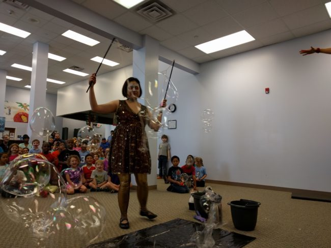 Memory | Interactive Bubble Experience | Bubble Art | Performer | Imagine Circus | Cirque | Raleigh, NC