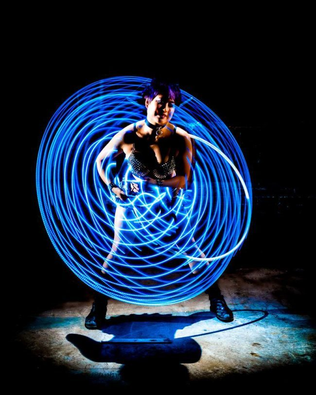 Memory | Hoop Dancer | Hula Hooper | LED Flow | Performer | Imagine Circus | Cirque | Raleigh, NC