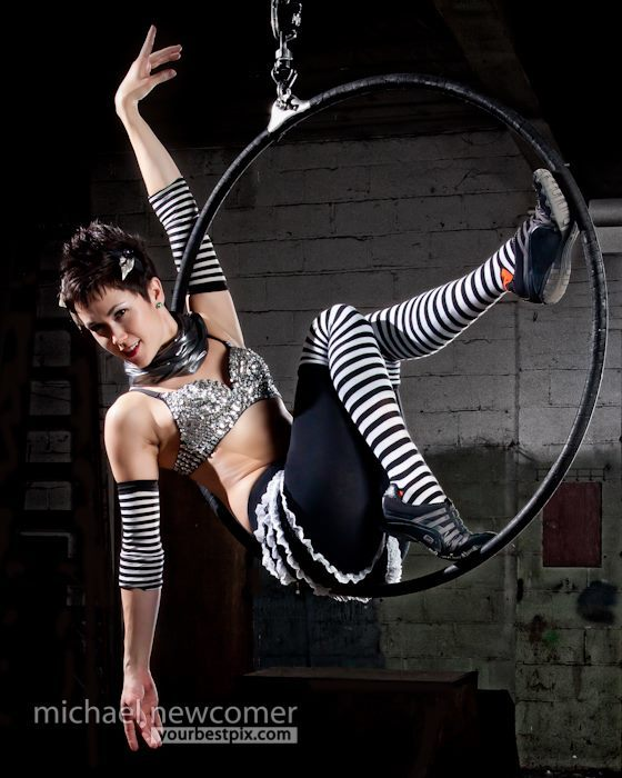 Mindy | Big Top Circus | Aerial Lyra | Aerial Hoop | Performer | Imagine Circus | Cirque | Raleigh, NC