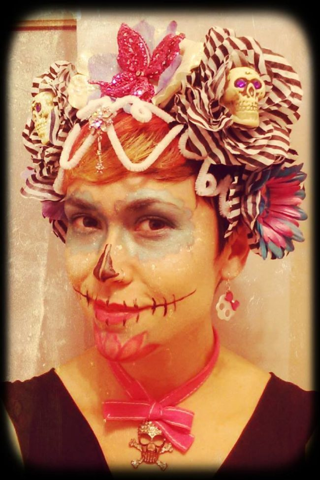 Day of the Dead | Performer | Makeup | Imagine Circus | Cirque | Raleigh, NC