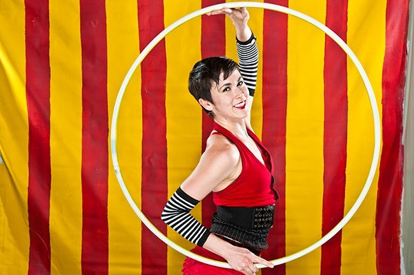Mindy | Big Top Circus | Hoop Dancer | Hula Hoop | Performer | Imagine Circus | Cirque | Raleigh, NC