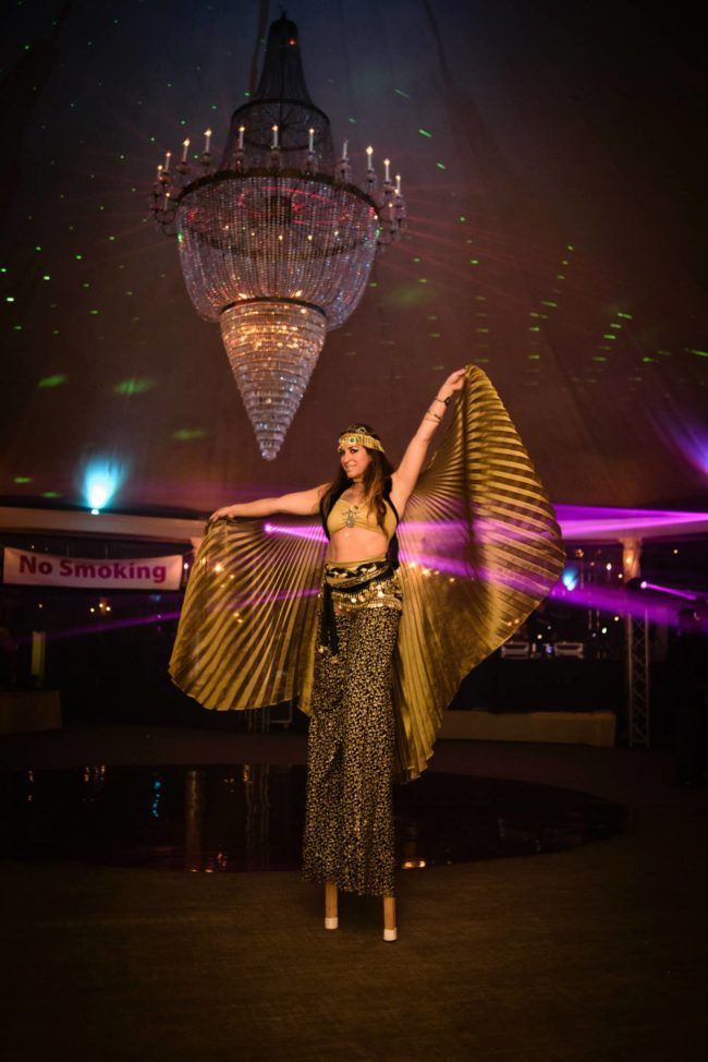 Winged Dancer | Stilt Walker | Isis Wings | Performer | Imagine Circus | Cirque | Raleigh, NC