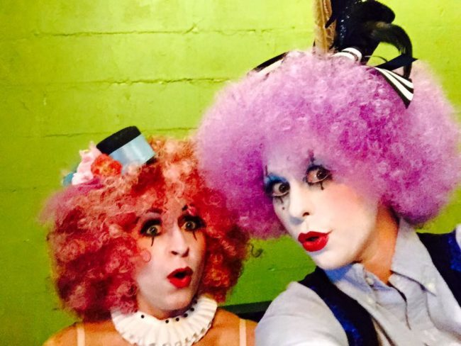 Clown | Mime | Makeup | Duo | Performers | Imagine Circus | Cirque | Raleigh, NC