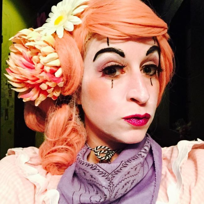 Robin | Clown | Mime | Makeup | Performer | Imagine Circus | Cirque | Raleigh, NC