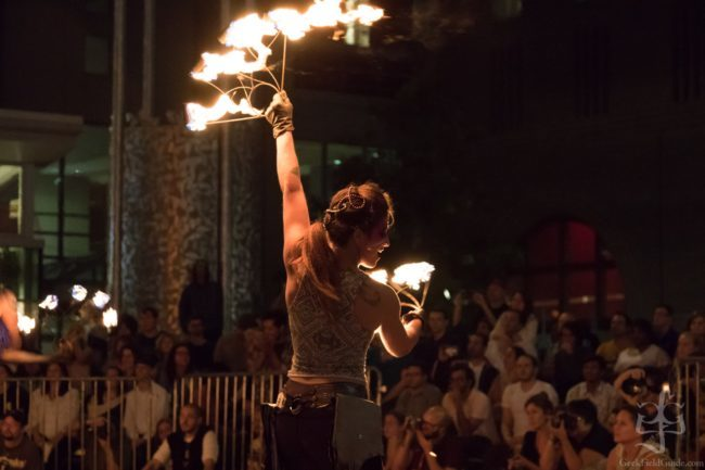 Robin | Tribal | Fire Performer | Fans | Imagine Circus | Cirque | Raleigh, NC