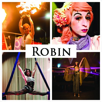 Robin | Imagine Circus Performer | Cirque | Raleigh, NC