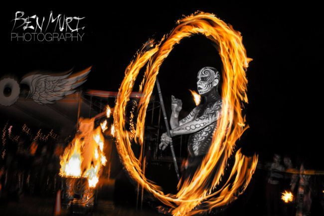 Scott | Body Paint | Living Canvas | Futuristic | Fire Performer | Fire Staff | Performer | Imagine Circus | Cirque | Raleigh, NC