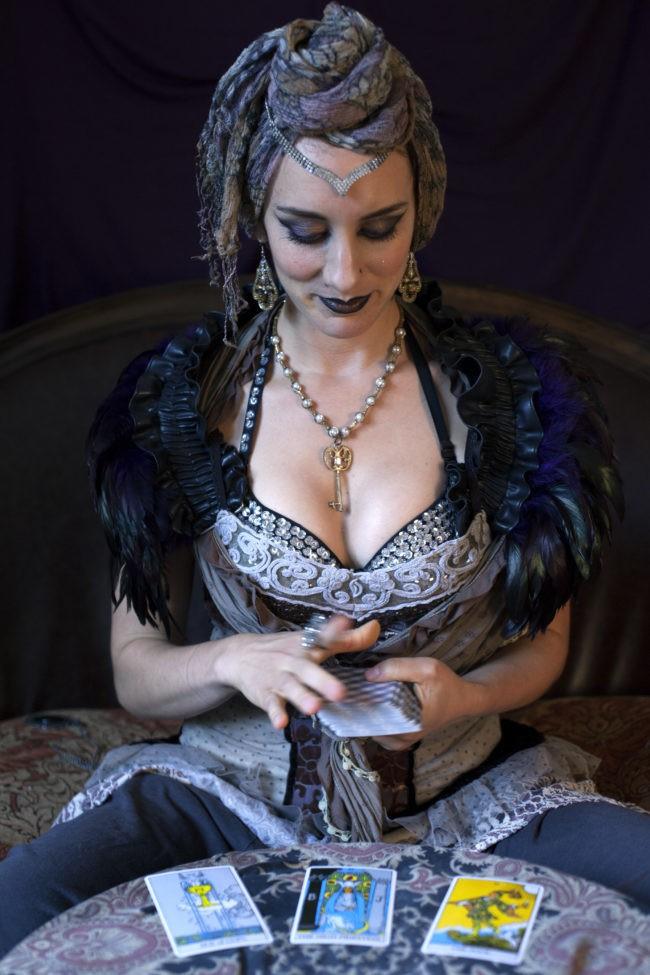 Toni | Tarot Card Reader | Fortune Teller | Headshot | Performer | Imagine Circus | Cirque | Raleigh, NC