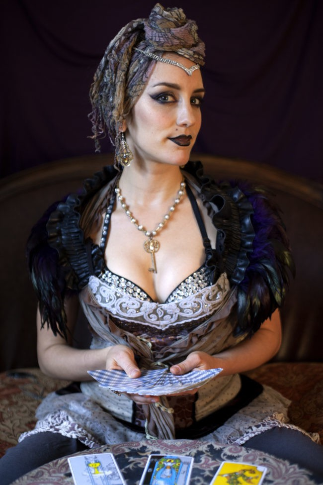 Toni | Tarot Card Reader | Fortune Teller | Imagine Circus | Cirque | Raleigh, NC