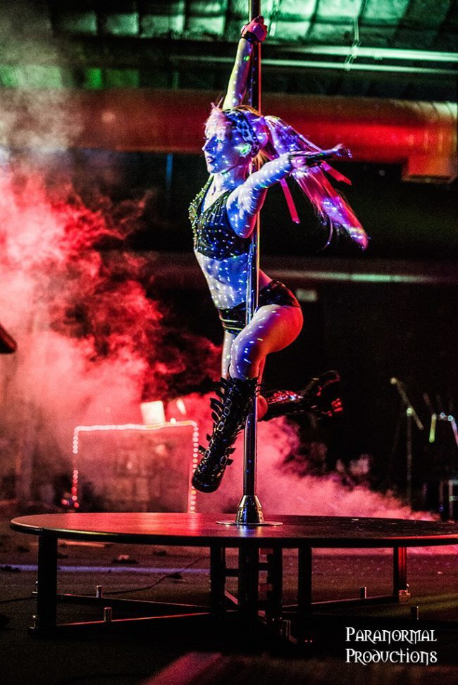 Adrenaline | Pole Dancer | Sexy | Performer | Imagine Circus | Cirque | Raleigh, NC