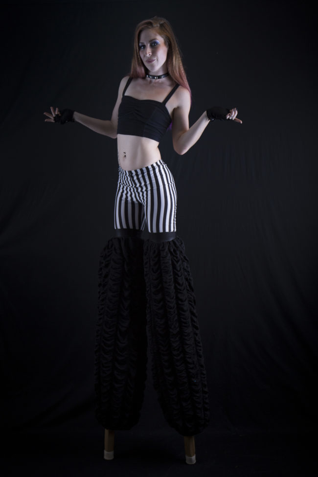 Adrenaline | Stilt Walker | Performer | Imagine Circus | Cirque | Raleigh, NC