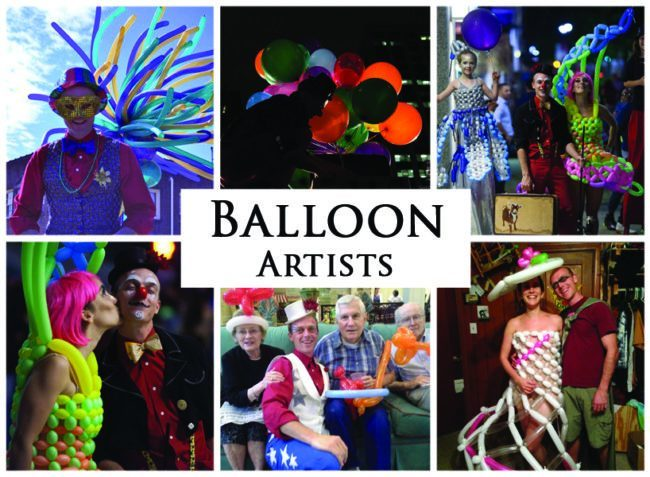 Balloon Artists | Imagine Circus | Acts | Cirque | Raleigh, NC